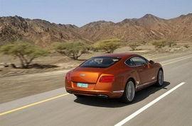 海外测试新款宾利欧陆GT 操控更具乐趣