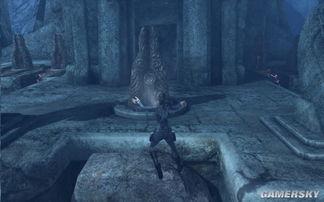 无上剑座-但是由于启动正门吊桥的锁链被之前看到的石像手中的巨剑卡住,因此...