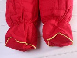 ...季加厚过年喜庆大红羽绒棉婴儿衣服男女宝宝棉衣外套哈衣爬用品