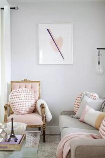 有房色一级片吗-灰色和粉色搭配在一起   总是有一种高贵的感觉   而不失少女心   粉色很...