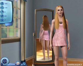 模拟人生3 MOD人物 混血妹妹