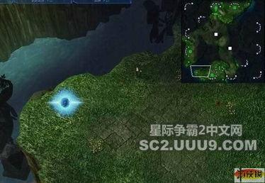 星际争霸2地图剖析 经典地图LOST TEMPLE 7 星际争霸2攻略秘籍