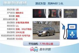 精简版 轩逸 测试东风风神A60 1.6AT