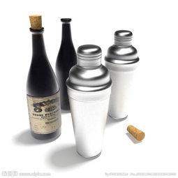 酒瓶 酒瓶模型图片