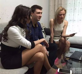俄罗斯美女西安当模特 月薪过万称比家乡挣得多