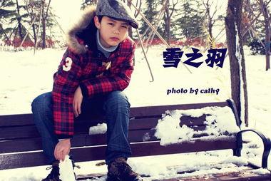 雪之羽 -植物园人像摄影