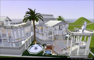 模拟人生3 宫廷建筑 完整版下载 模拟人生3 宫廷建筑 完整版 清风电脑...
