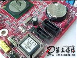 ,板载VIA VT6103L 10/100Mbps网络芯片;同时还搭载了Real