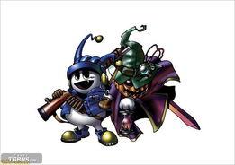 恶灵弑魂师-<IMG> 持有GUMP的主人公一行可以跟在异界的恶魔进行