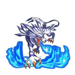 继承了古代种数码兽的遗传因子.成熟体是天使兽,长有闪耀着光芒的...