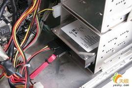 安装硬盘电源与数据线接口-菜鸟成长手册 图解英特尔电脑组装全过程 ...