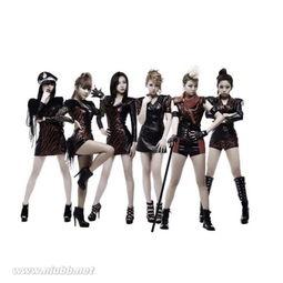 国六人女子团体SixBomb,成员由惠珍(..) , 娜菲(NABI) , 智宇...