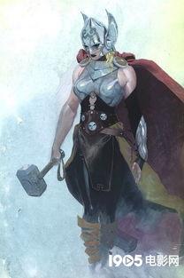 异界之废物变天才-着雷神托尔将要变成女人,漫威官方还表示: