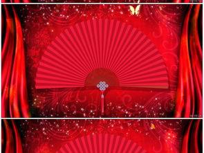 中国风相声戏曲LED背景视频