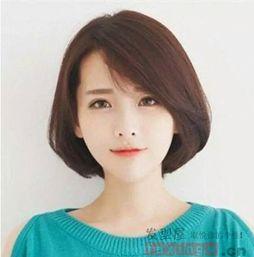 中长发女生发型图片