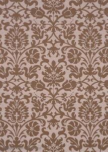 ...纸- 咖啡色 艾叶花纹图片素材-高清免费-浅咖啡色墙纸