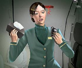 变态机长厕所偷拍空姐换装 图
