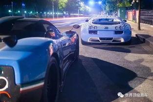 上海土豪深夜超跑聚会,6台超跑总价超1.5亿
