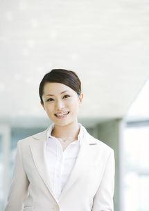 自信笑容的商务美女图片素材 图片ID 81432 商务人士 人物图片