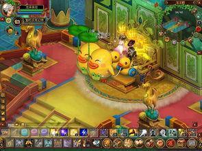 QQ自由幻想 月光岛全新变装 烈焰女王