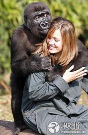 全球最有爱的人与动物 亲密 瞬间