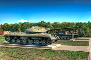 钢铁恐龙 IS 3 斯大林3 重型坦克