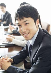 自信笑容的商务男性图片素材 图片ID 77789 商务人士 人物图片