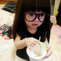 qq头像女生戴眼镜可爱 qq戴眼镜女生头像