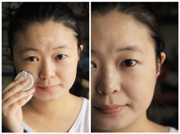 水莱丽丝袜-将蔚丽莱百花多效养颜修容霜点涂试的分布在脸上,在用手拍或者是粉...
