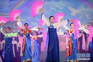 朝鲜平安北道艺术团访华大型文艺演出在丹东举行