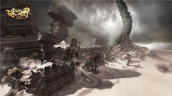 这里常年无雨,沙暴盛行,常有龙卷风席卷风沙而来,就连天地都变了...