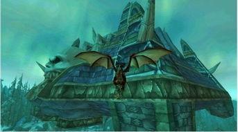 身在虚无缥缈间 盘点魔兽世界里美丽的空中楼阁