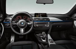 加装M运动套件的宝马新3系内饰-增四驱 316i 宝马推3系新车型与选装项
