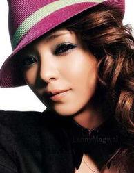 安室奈美惠--烟熏妆让一个回眸勾住男人视线-跟女明星学化酷魅烟熏妆