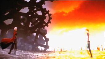关于Fate中红A与士郎的无限剑制咒文