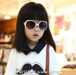 可爱波波头发型图片 小女孩波波头发型天真可爱儿童波波头发型图片