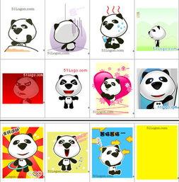 QQ表情 熊猫飞天庆神七发射成功