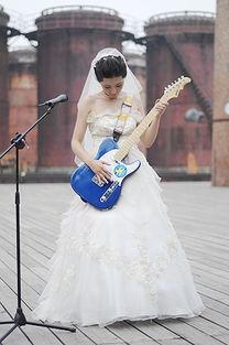 模特美女走秀吉他中国音乐节 锐D影像性感摇滚美人大展