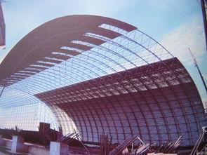 环保全封闭煤场储煤棚网架设计施工 -建筑建材