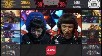 2018LPL春季赛EDG0 2遭Snake狂虐 EDGvsSnake比赛视频回顾地址