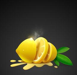 创意柠檬图标设计UI