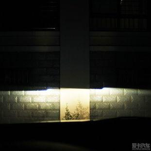 引仙灯-改装后铺路效果近光,打不到对方骑单车和司机眼睛   远光不客气了,  ...