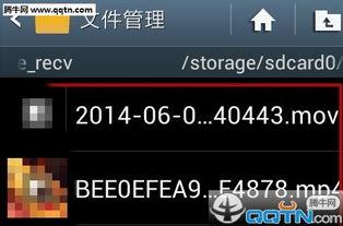 手机QQ群里下载的视频在哪里 手机QQ群找出下载文件方法
