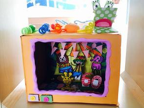 ...很久很久以前,有一个故事盒 记新洲幼儿园东区教师自制故事盒大比拼