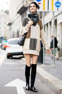 ...显瘦的利器,配丝袜或是小脚裤,披上优雅的廓形大衣脚踩高跟鞋,...