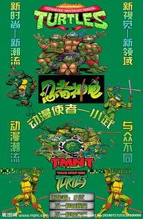 动漫忍者神龟空间皮肤图片