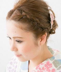 日系短发女生刘海编发教程 甜美可爱惹人爱