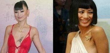 女星出道前后胸部变化 大