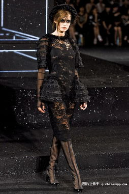 香奈儿官网2011秋冬女装图片 巴黎大皇宫Chanel2011 2012秋冬高级...