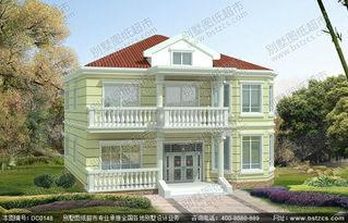 100平米二层别墅设计图纸
